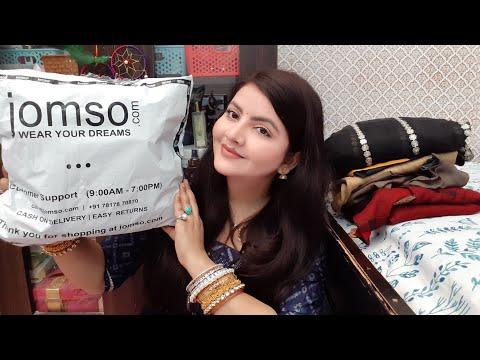 jomso-ethnic-shopping-haul-|-saree-&-kurti-for-summers-|-affordable-designer-dresses-|rara-|
