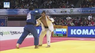 柔道グランドスラム東京 男子81kg級 3位決定戦 エグティゼvsニャムスレン