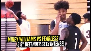Mikey Williams vs FEARLESS 5'9 Defender Gets INTENSE in OT Thriller!! Mikey Getting BUCKETS!