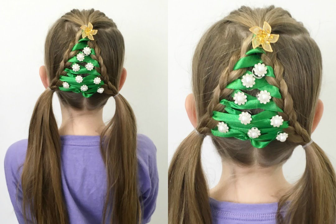 The Easiest Christmas Tree Braid Ever