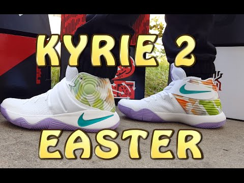 c379fa89be37a Kyrie 2 Easter Review with ON FEET - YouTube