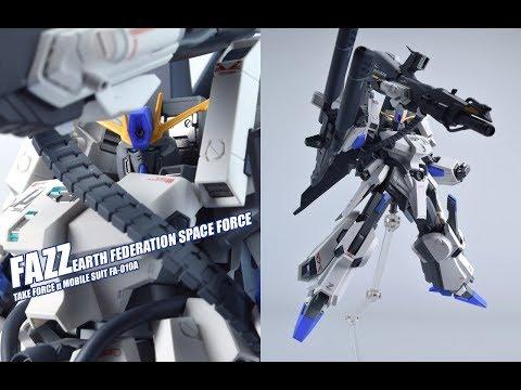 【评头论足】黑脸奇兵! 万代 限定 KA版 ROBOT魂 FAZZ GUNDAM高达模型 介绍视频 GUNPLA REVIEW