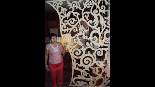 Резные наличники на окна и двери из дерева. Резной декор.