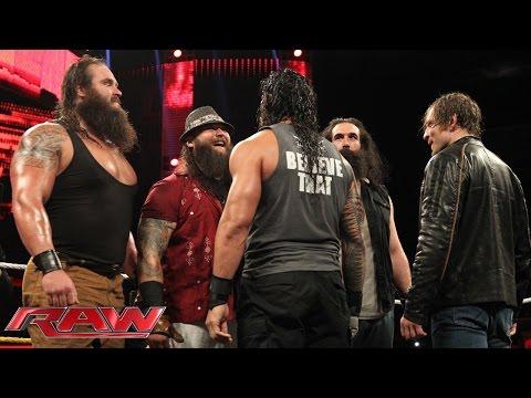 "Die Wyatt Family bei ""Miz TV"": Raw – 14. September 2015"