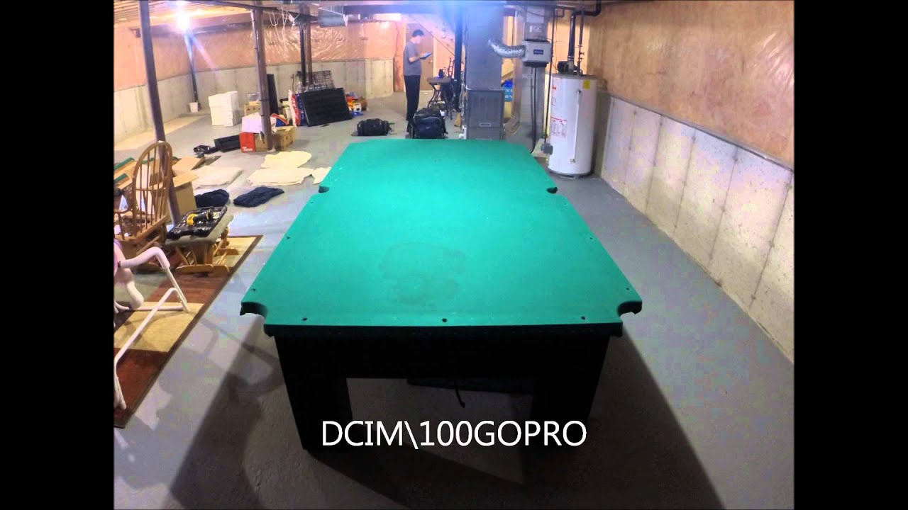 Pool Table Disassemble YouTube - Imperial shadow pool table