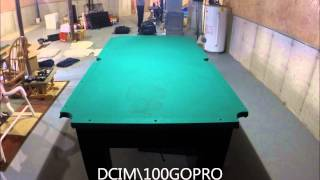 pool table disassemble