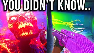 10 Things You DIDNT KNOW You Can Do in Cold War Zombies!