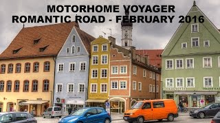 The Motorhome Voyager travels along Germany's Romantic Road