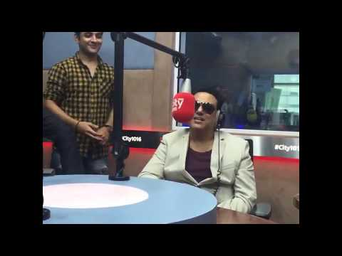 Govinda The Hero Of Bolllywood At UAE  Radio Show with Wife