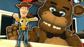 Giant Freddy Chases Toys in a Toy Story Map in Gmod! - Garry's Mod Multiplayer FNAF Survival