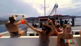 CHUKKA Catamaran Cruise to Dunn's River Falls