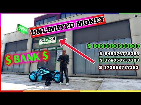 Gta 5 Unlimited Money Glitch Fleeca $$ ( MILLIONS INN)