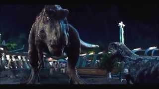 Jurassic world pelea final