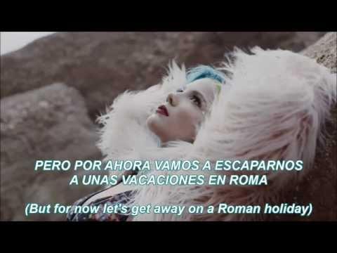 roman holiday - halsey || español