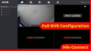 HikVision NVR Setup Including Hik-Connect NEW