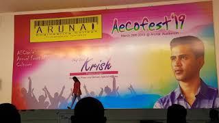 #Arunai Engg clg (culturals 2019)💓#Priya Aarohii💕