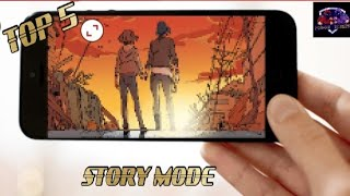 TOP 5 STORY MODE GAMES    NEW    HIGH GRAPHICS GAME    ANDROID    2021   (online & offline)