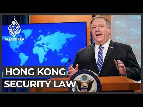 Pompeo Declares Hong Kong 'no Longer Autonomous' From China