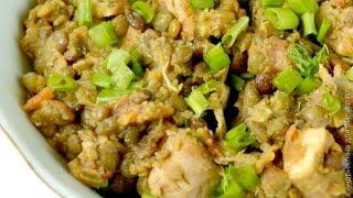 Мультиварка рецепты  Чечевица с курицей в мультиварке