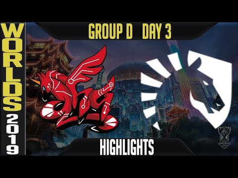 AHQ vs TL Highlights Game 1 | Worlds 2019 Group D Day 3 | AHQ Esports Club vs Team Liquid