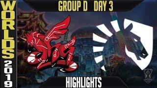 AHQ vs TL Highlights Game 1 | Worlds 2019 Group D Day 3 | AHQ Esports Club vs Team Liquid