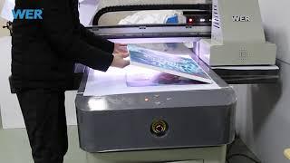 WER ET6090UV canvas prints canvas photo frame printing   Zebra