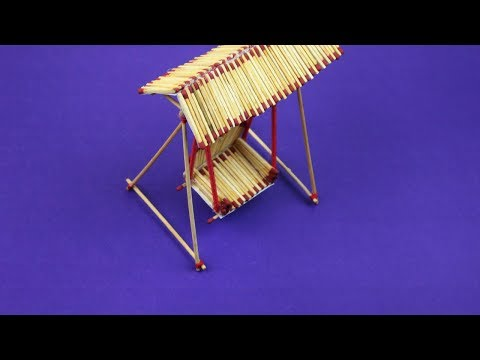 Art And Craft Ideas With Matchstick How To Make Matchstick