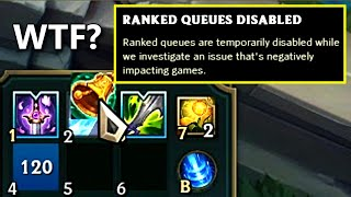 This is why Ranked got DISABLED!