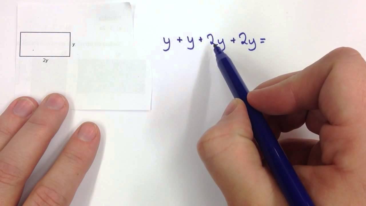 Uttryck 2: Rektanglars omkrets