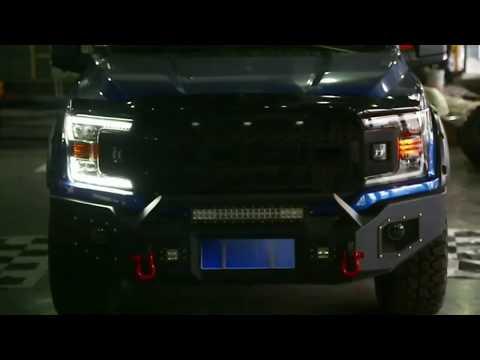 AlphaRex 2018-2020 Ford F-150 NOVA-Series Full LED Projector Headlights