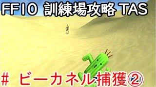 (コメ付き)【TAS】FF10 WIP 【ビーカネル捕獲②】