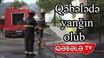QƏBƏLƏDƏ REKLAM LÖVHƏLƏRİ YANDI -QƏBƏLƏ TV