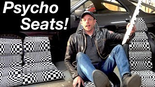 Casey installs PSYCHEDELIC Pasha seats in the Porsche 928!