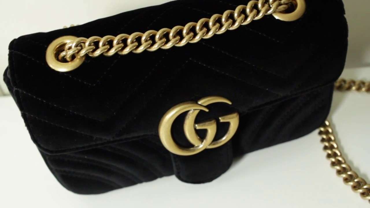 a35805b62289 GUCCI GG MARMONT BAG UNBOXING | 2017 - YouTube