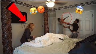 EXTREME CHEATING PRANK ON GIRLFRIEND!!! (GONE WRONG) thumbnail