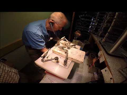 Rileys repair of a broken eyeglass bridge