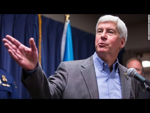 Former Gov Snyder's Phone Seized In Flint Water Investigation