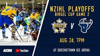 NZIHL 2018 | Birgel Cup Game 2: West Auckland Admirals v Skycity Stampede - August 24