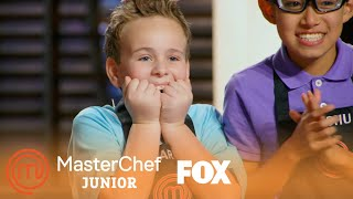 Gordon Grosses The Chefs Out With Chicken Giblets | Season 5 Ep. 8 | MASTERCHEF JUNIOR