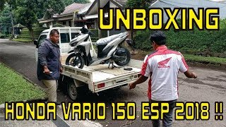 HONDA VARIO 150 ESP 2018 [UNBOXING] - REVIEW - RIDING EXPERIENCE 1/3