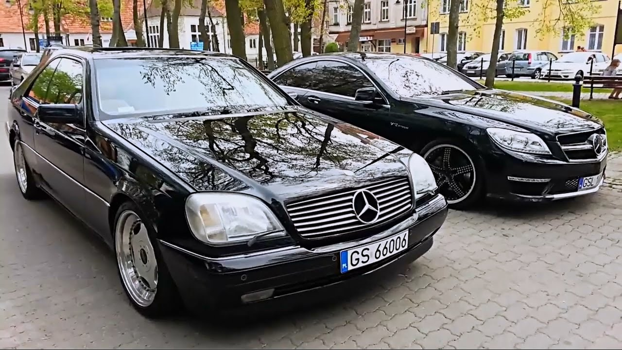 mercedes cl 500 lorinser acceleration and review vs cl 65 amg youtube. Black Bedroom Furniture Sets. Home Design Ideas