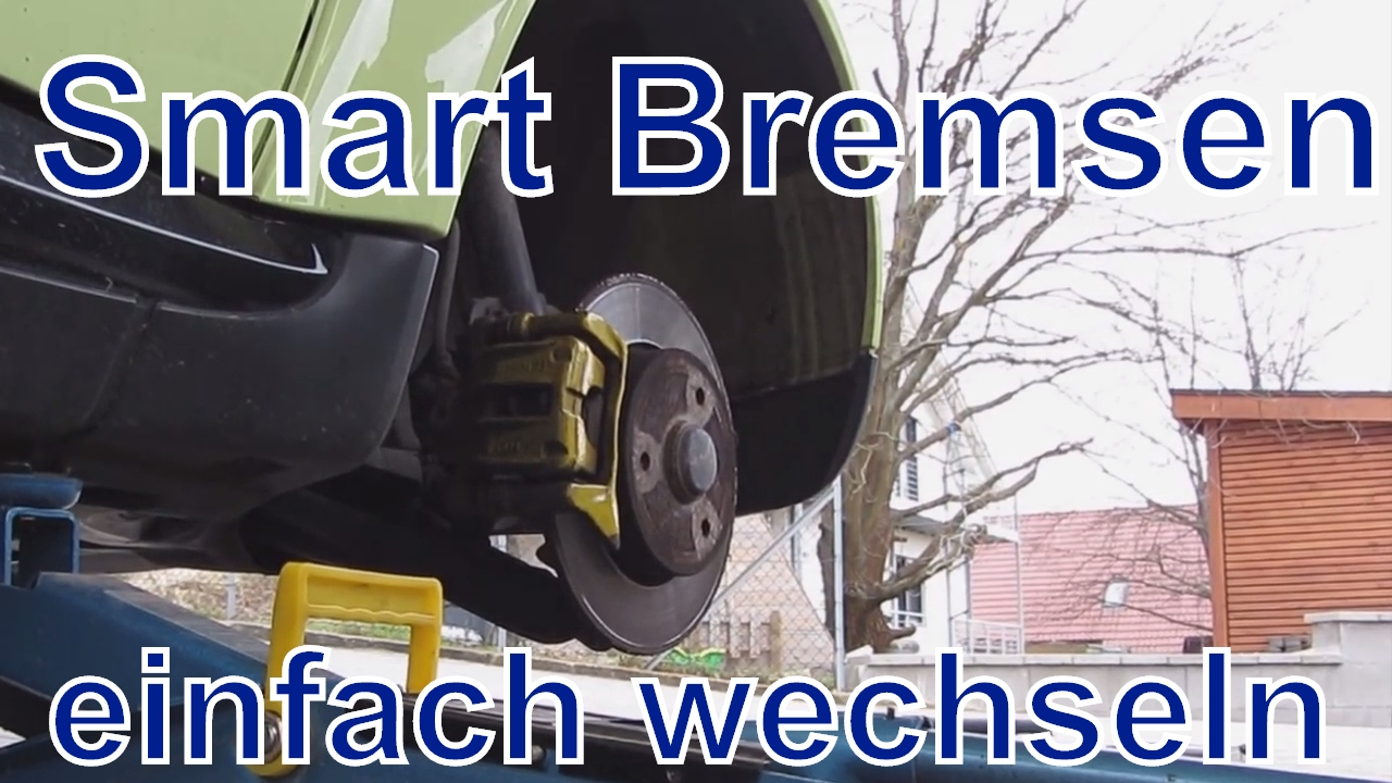 bremsen wechseln beim smart fortwo 450 leicht gemacht youtube. Black Bedroom Furniture Sets. Home Design Ideas