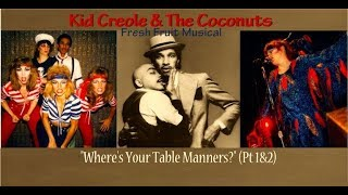 Download lagu KiD CrEoLe & the CoCoNuTs Live - Best Band Lineup Ever -Table Manners