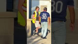 Fake Security Prank! #shorts