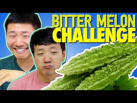The Great BITTER MELON Challenge!
