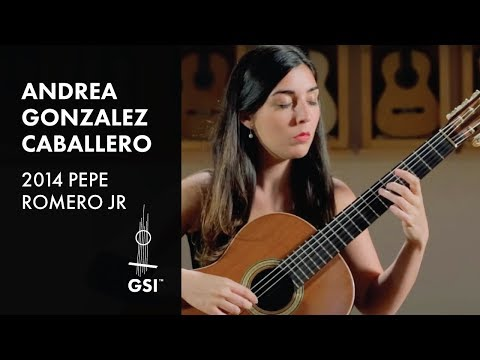 de Falla Danza del Molinero - Andrea Gonzalez Caballero plays 2014 Pepe Romero Jr.