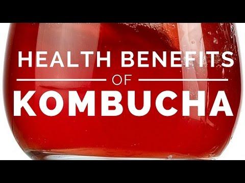 Top Health Benefits of Kombucha