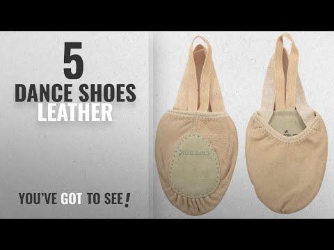 Top 5 Dance Shoes Leather [2018]: Capezio Leather Pirouette II Dance Shoe, Nude, Medium/8-9.5 M US