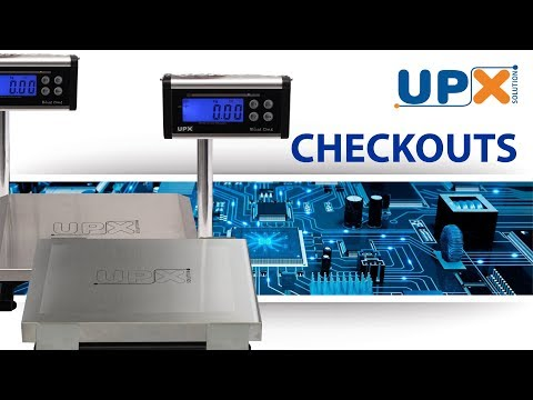 Balanças UPX CheckOuts - YouTube