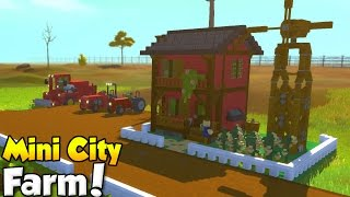MINI CITY [EP. 15] - FARM! - Scrap Mechanic Community Build!